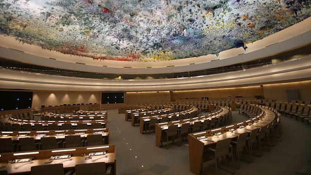 人權與文明聯盟廳是聯合國人權理事會在日內瓦的會議場地,中國將於11月6日在此接受普遍定期審議(Ludovic Courtes – CC BY-SA 3.0)